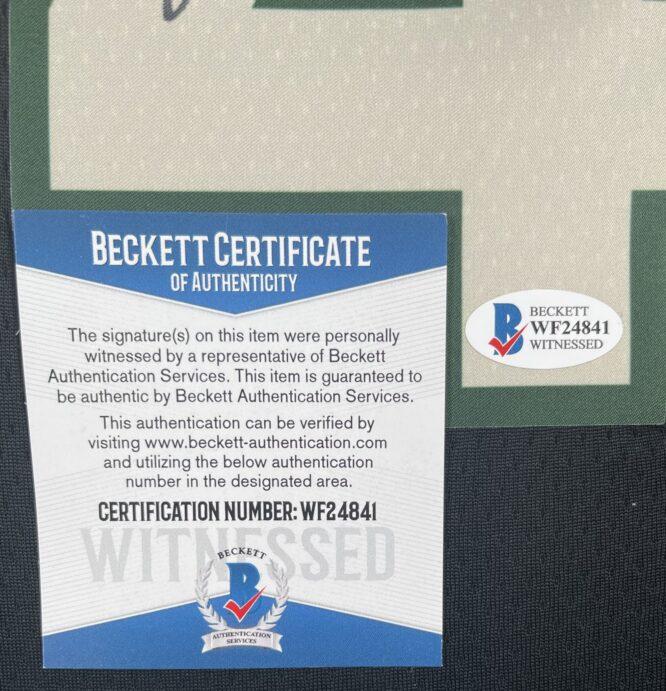 Giannis Antetokounmpo Authentic Signed 2021 Milwaukee Bucks Nike Icon Swingman Jersey BAS WF24841 4