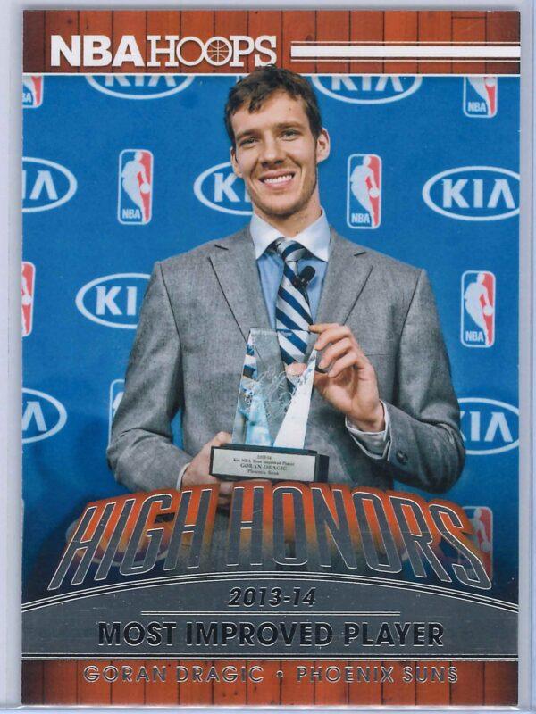 Goran Dragic Panini NBA Hoops Basketball 2014-15 High Honors