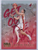 Goran Dragic Panini NBA Hoops Basketball 2018-19 Get Out The Way Gold  Winter Edition