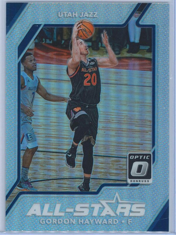 Gordon Hayward Panini Donruss Optic Basketball 2017-18 All Stars Holo