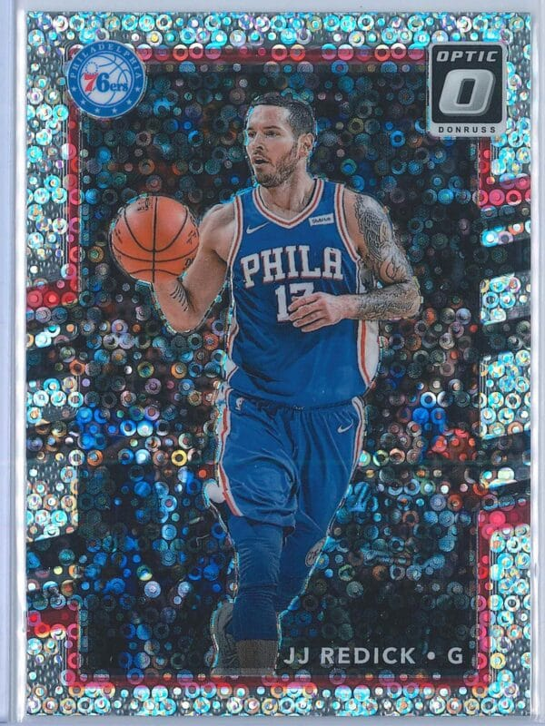 JJ Redick Panini Donruss Optic Basketball 2017 18 Fast Break Holo 1 1