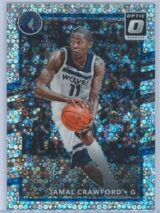 Jamal Crawford Panini Donruss Optic Basketball 2017-18  Fast Break Holo