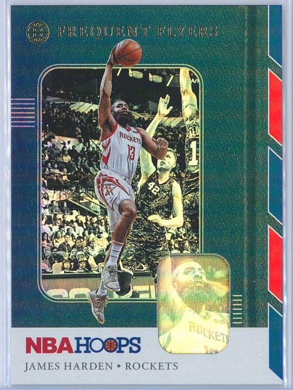 James Harden Panini NBA Hoops Basketball 2019-20 Frequent Flyers Holo