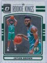 Jaylen Brown Panini Donruss Optic Basketball 2016-17 Rookie Kings   Rookie Year