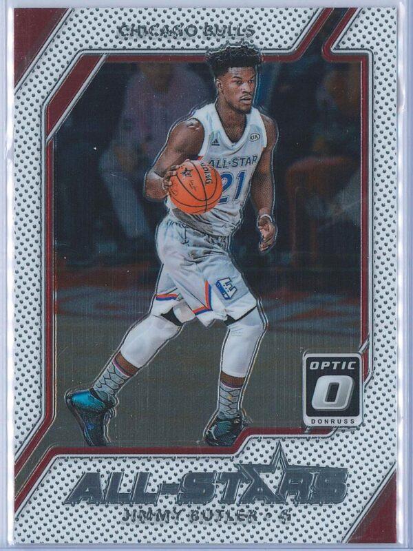 Jimmy Butler Panini Donruss Optic Basketball 2017-18 All Stars