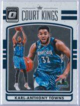Karl Anthony Towns Panini Donruss Optic Basketball 2016-17 Court Kings