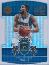 Karl Anthony Towns Panini Excalibur Basketball 2016-17 Coat Of Arms
