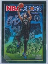 Karl Anthony Towns Panini NBA Hoops Basketball 2019-20 Get Out The Way