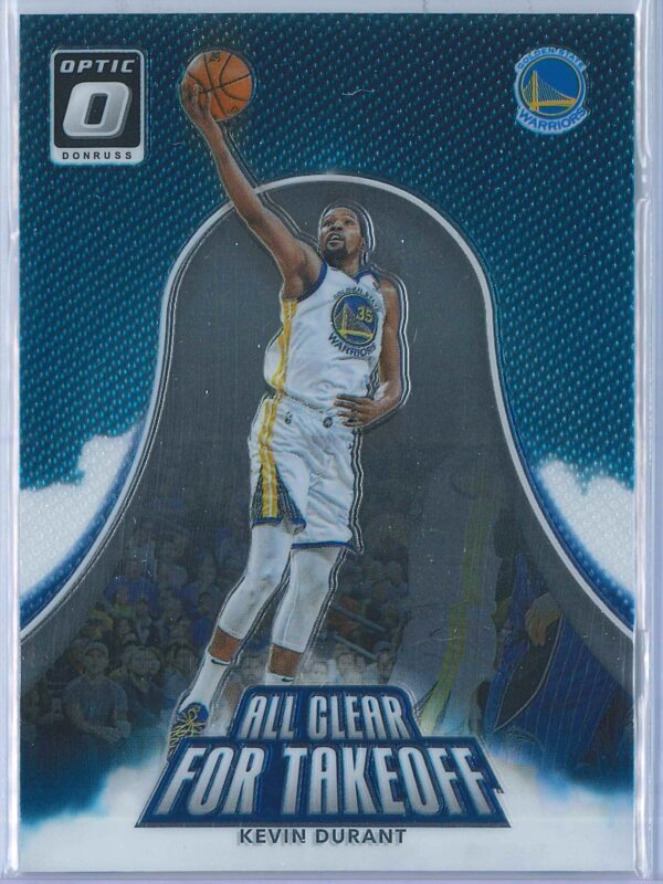 Kevin Durant Panini Donruss Optic Basketball  2017-18 All Clear For Takeoff
