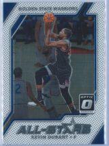 Kevin Durant Panini Donruss Optic Basketball 2017-18 All Stars