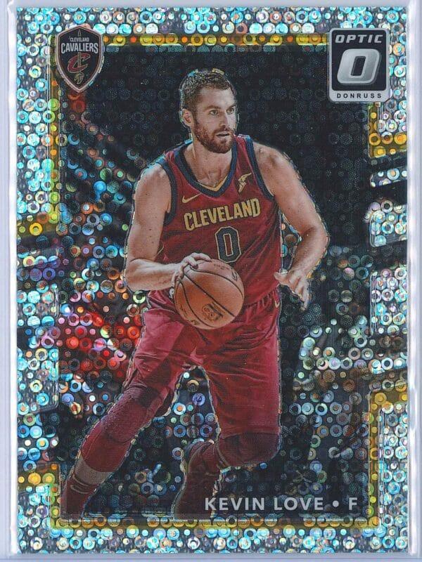 Kevin Love Panini Donruss Optic Basketball 2017-18  Fast Break Holo
