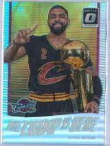 Kyrie Irving Panini Donruss Optic Basketball  2017-18 The Champ Is Here Holo