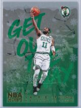Kyrie Irving Panini NBA Hoops Basketball 2018-19 Get Out The Way Gold  Winter Edition