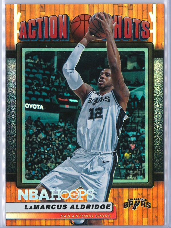 LaMarcus Aldridge Panini NBA Hoops Basketball 2018-19 Action Shots