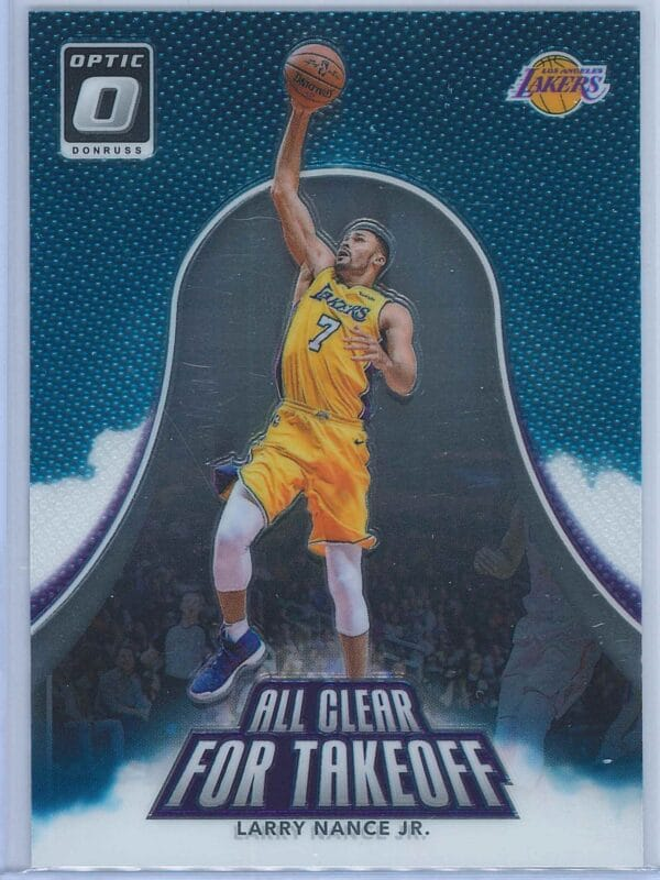 Larry Nance Jr. Panini Donruss Optic Basketball  2017-18 All Clear For Takeoff