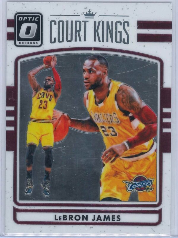 Lebron James Panini Donruss Optic Basketball 2016-17 Court Kings