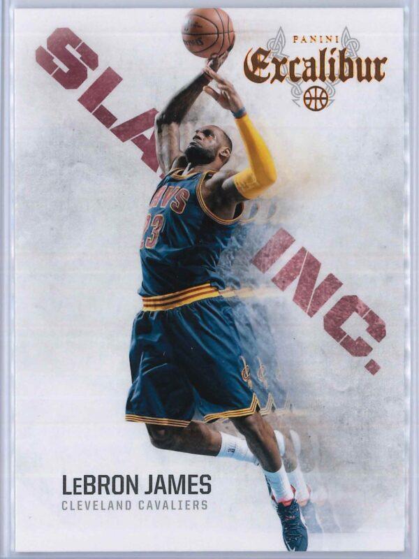 Lebron James Panini Excalibur Basketball 2014-15 Slam Inc