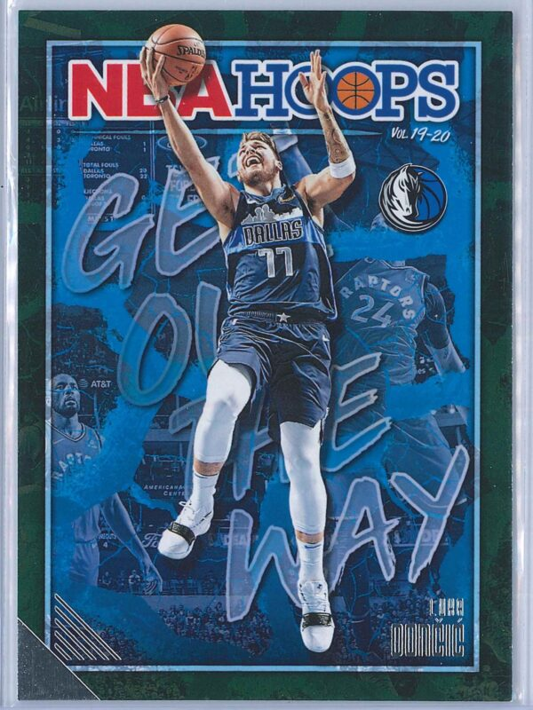 Luka Doncic Panini NBA Hoops Basketball 2019-20 Get Out The Way