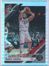Marc Gasol Panini Donruss Optic Basketball  2019-20  Holo