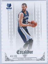 Marc Gasol Panini Excalibur 2014-15  Silver 4349