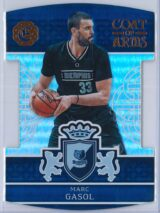 Marc Gasol Panini Excalibur Basketball 2016-17 Coat Of Arms