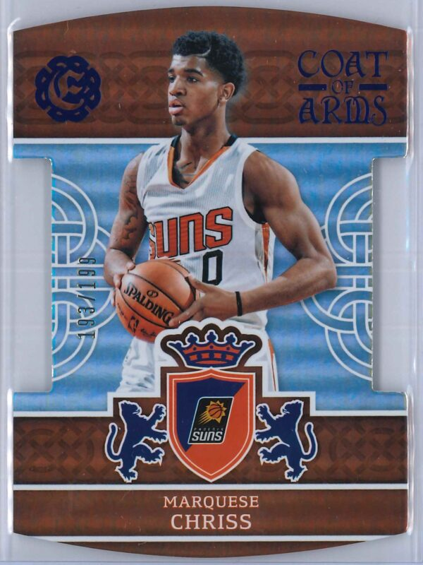 Marquese Chriss Panini Excalibur Basketball 2016 17 Coat Of Arms Blue 193199 1