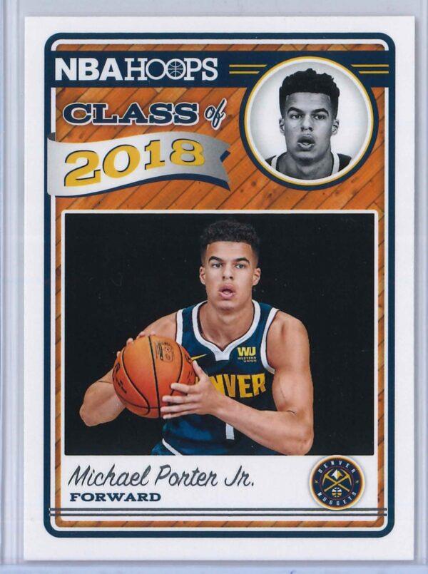 Michael Porter Jr. Panini NBA Hoops Basketball 2018-19 Class of 2018