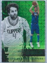 Milos Teodosic Panini Essentials 2017-18  Green  Rookie Card RC