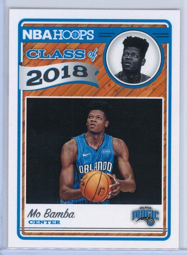 Mo Bamba Panini NBA Hoops Basketball 2018-19 Class of 2018