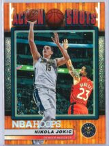 Nikola Jokic Panini NBA Hoops Basketball 2018-19 Action Shots