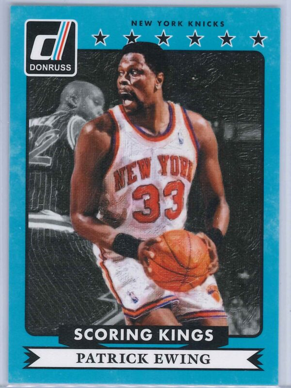 Patrick Ewing Panini Donruss Basketball 2014 15 Scoring Kings 1 scaled