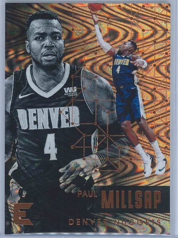 Paul Millsap Panini Essentials 2017-18  Spiral