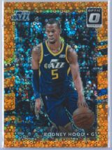 Rodney Hood Panini Donruss Optic Basketball 2017-18  Fast Break Orange 141193