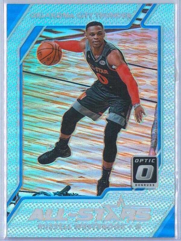 Russell Westbrook Panini Donruss Optic Basketball 2017-18 All Stars Holo