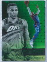 Russell Westbrook Panini Essentials 2017-18  Green
