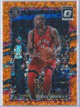 Serge Ibaka Panini Donruss Optic Basketball 2017-18  Fast Break Orange 016193
