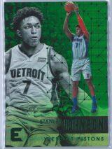 Stanley Johnson Panini Essentials 2017-18  Green