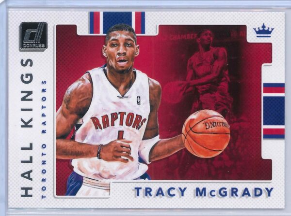 Tracy Mcgrady Panini Donruss Basketball 2017 18 Hall Kings 1