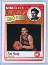 Trae Young Panini NBA Hoops Basketball 2018-19 Class of 2018