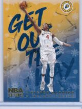 Victor Oladipo Panini NBA Hoops Basketball 2018-19 Get Out The Way Gold  Winter Edition