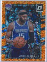 Vince Carter Panini Donruss Optic Basketball 2017-18  Fast Break Orange 183193