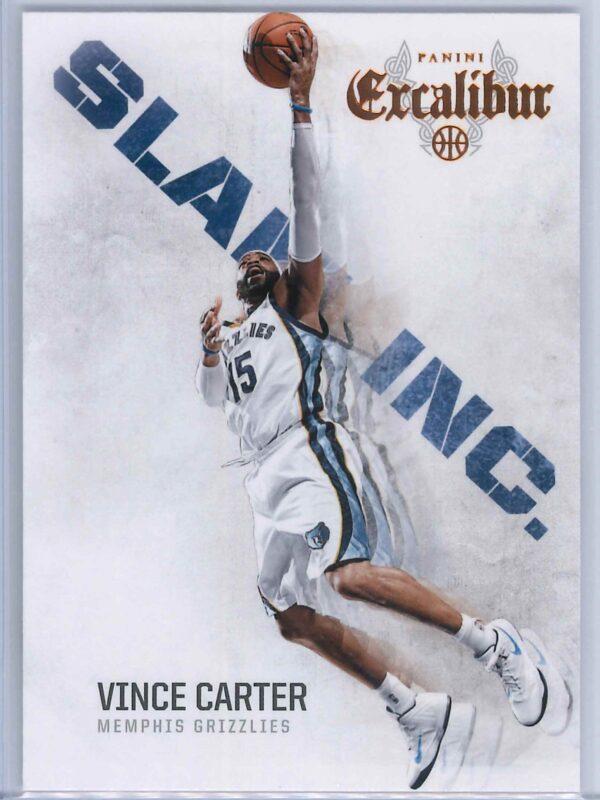 Vince Carter Panini Excalibur Basketball 2014-15 Slam Inc