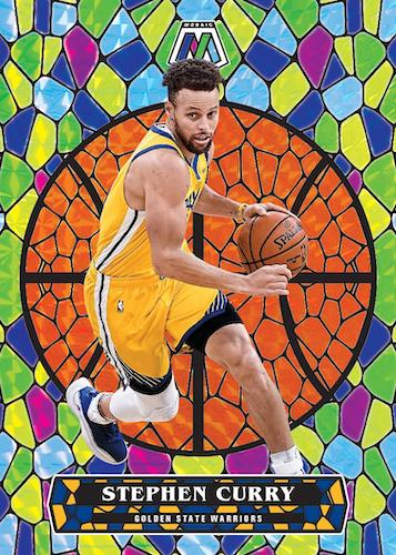 2020 21 Panini Mosaic Basketball NBA Cards Stained Glass Stephen Curry Hobby exclusive