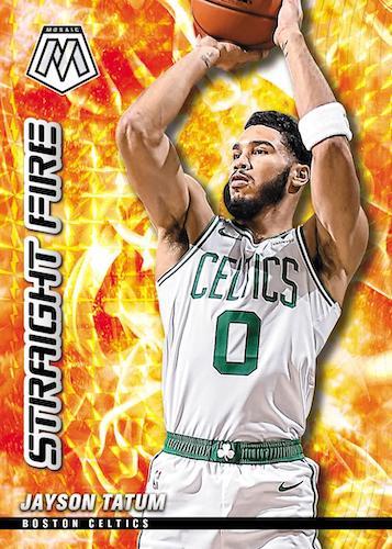 2020 21 Panini Mosaic Basketball NBA Cards Straight Fire Jayson Tatum Hobby exclusive