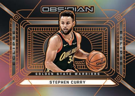 2020 21 Panini Obsidian Basketball NBA Cards Eclipse Stephen Curry