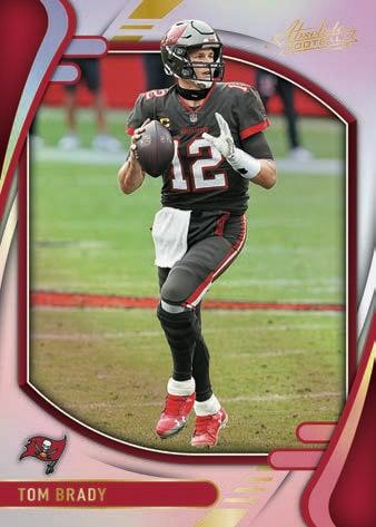 2021 Panini Absolute Football NFL Cards Base Spectrum Tom Brady