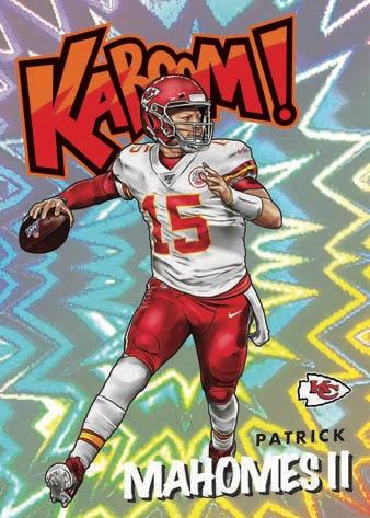 2021 Panini Absolute Football NFL Cards Kaboom Patrick Mahomes