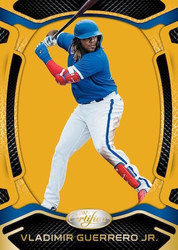 2021 Panini Chronicles Baseball Cards Ceritifed Mirror Gold Vladimir Guerrero Jr