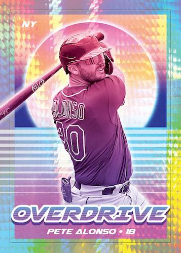 2021 Panini Chronicles Baseball Cards Overdrive Hyper Pete Alonso