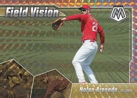 2021 Panini Mosaic Baseball Cards Field Vision Mosaic Nolan Arenado